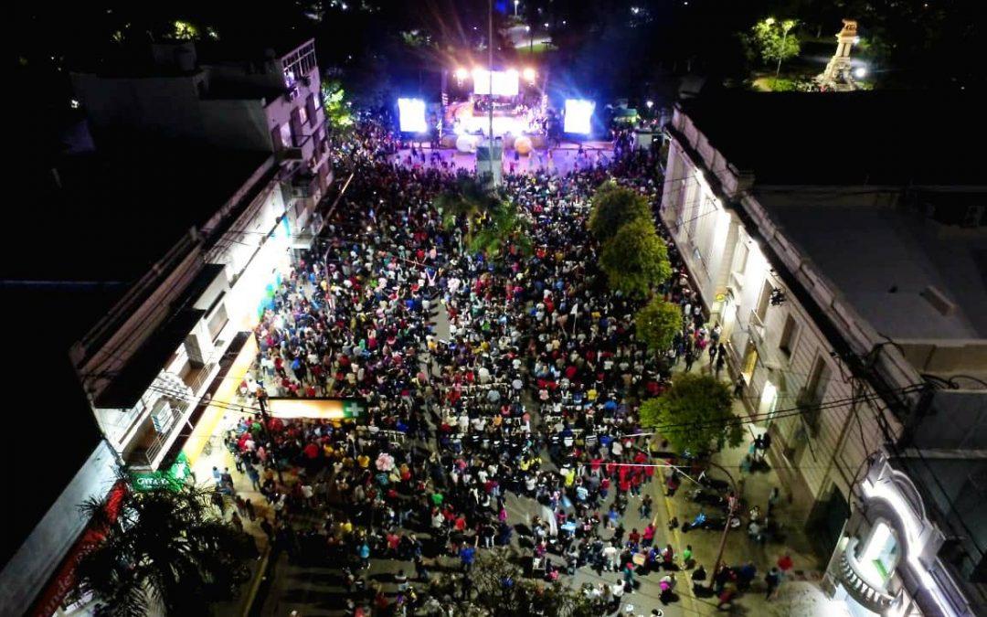 Chaco: Multitudinaria presentación de Invasión del Amor de Dios en Resistencia