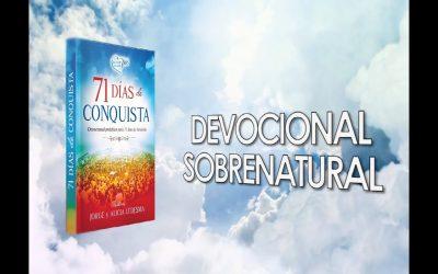 Adquiera el Devocional 71 Días de Conquista en la página de www.amazon.com