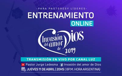 Invasión del Amor de Dios: Transmisión Especialpor Canal Luz