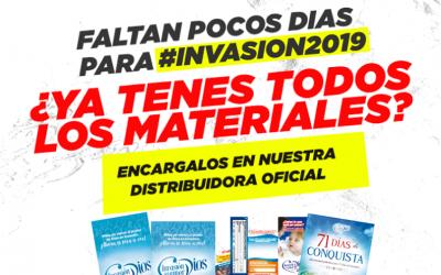 Editorial Invasión te invita adquirir sus materiales