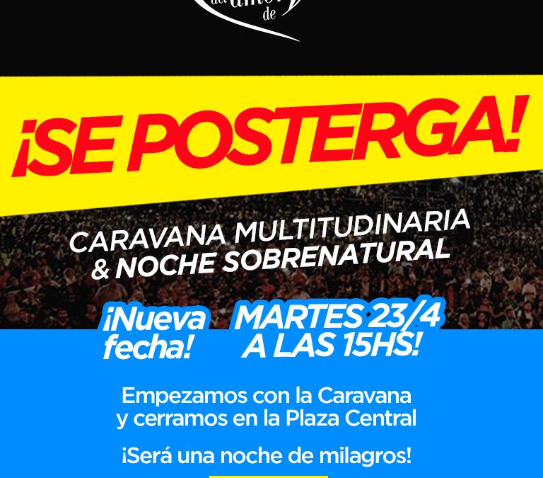 Resistencia – Chaco: Se Posterga la Caravana y el Evento en la Plaza 25 de Mayo