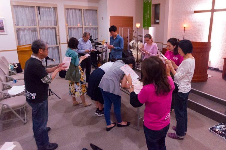 Japón ya comenzó con la Cadena Gigante de Oración