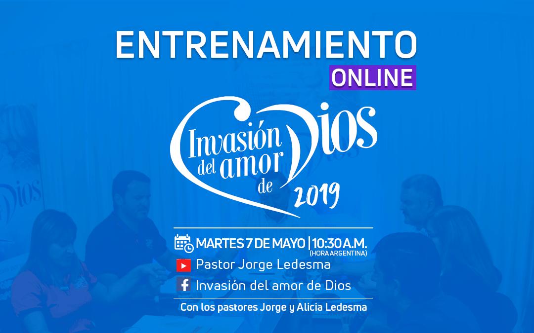 Este martes: Entrenamiento Online de Invasión 2019