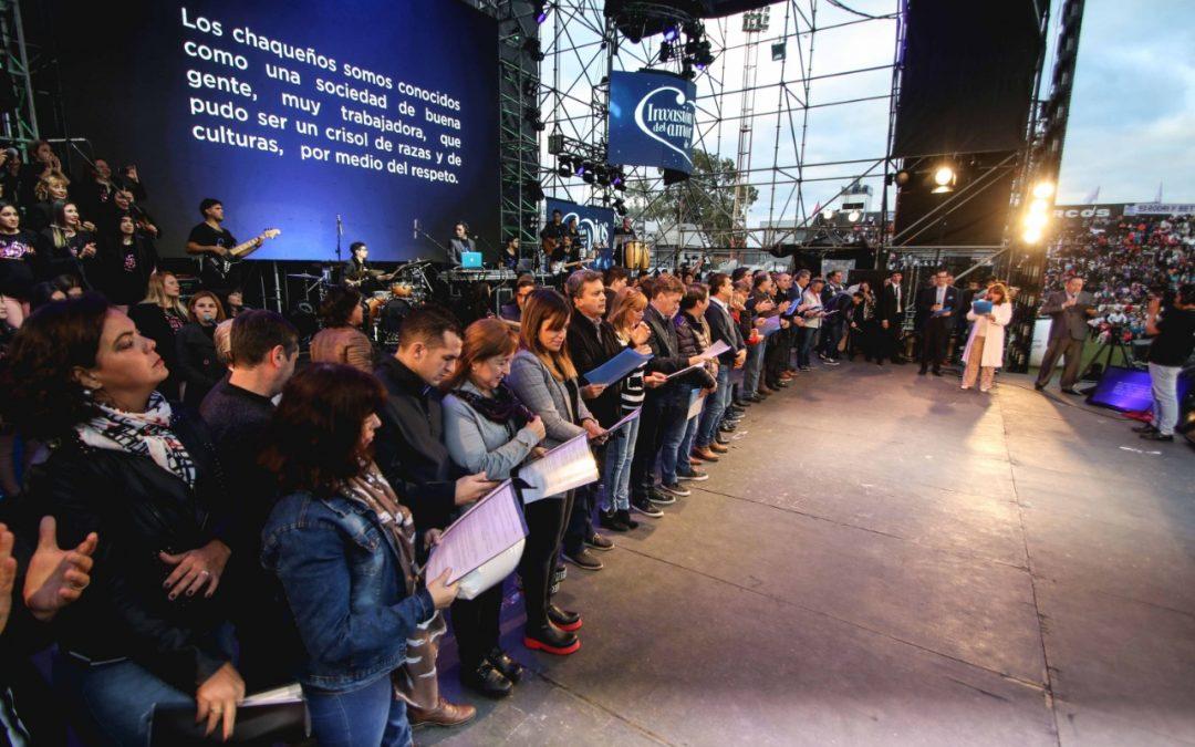 Chaco: En la Fiesta de la Familia, las autoridades escucharon al Pueblo de Dios