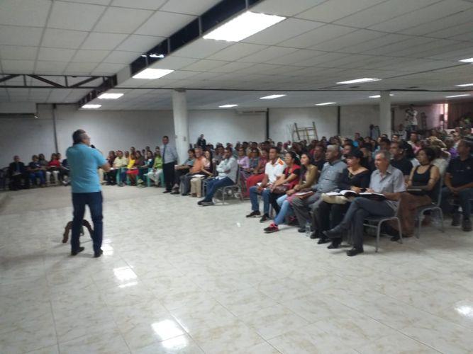 En Barquisimeto, Venezuela, comenzaron con el entrenamiento para Invasión 2020