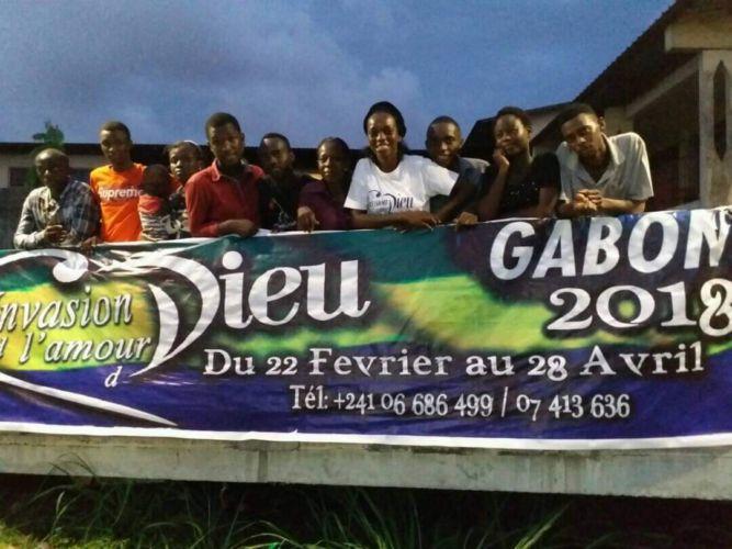 En Gabón, África, ya comenzaron con los preparativos para Invasión 2020