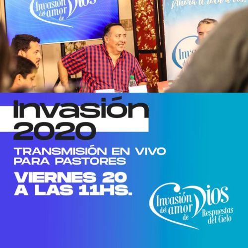 Invasión: Transmisión para pastores y lideres hoy desde las 11 horas