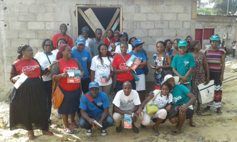 Invasión del amor de Dios en Camerún, África