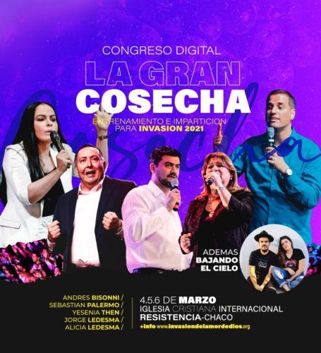 """Congreso Digital de Invasión """"La Gran Cosecha"""""""